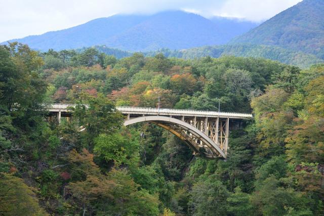 мост ущелье Наруко
