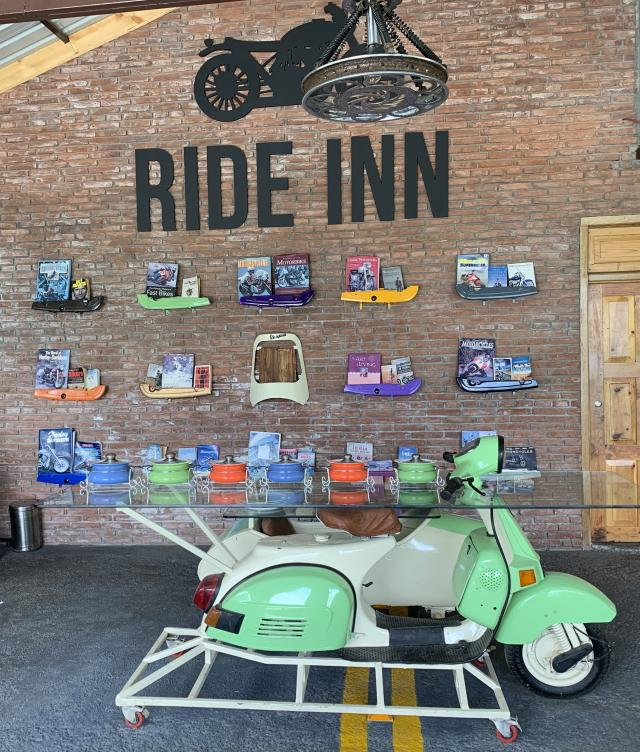 Ride Inn cafe