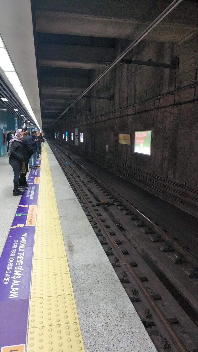 На метро под Босфором