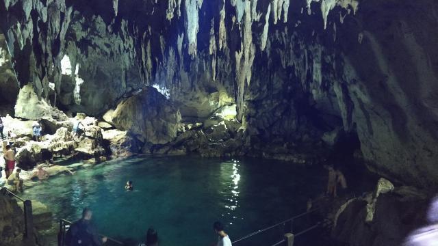 Стандартное посещение пещер