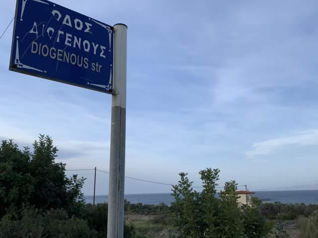 улица Сократа уже была, теперь и до Диогена добрались