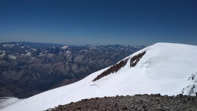 Вид на западную вершину