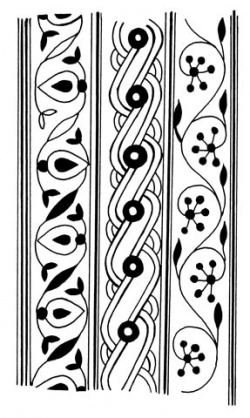 Индийский орнамент