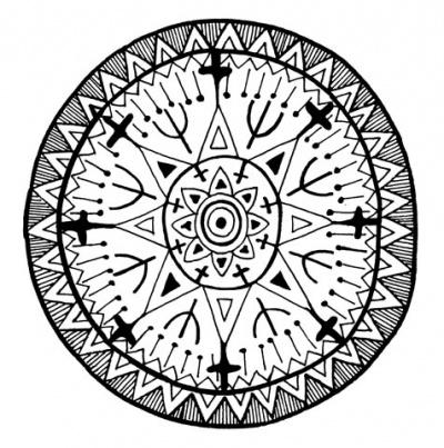 Народный орнамент Индии