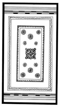 Национальный орнамент Индии