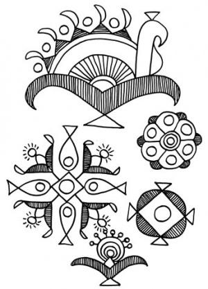Орнаменты Индии