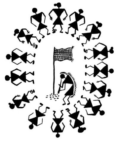 Индия: орнамент