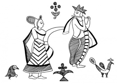Индийский этноорнамент