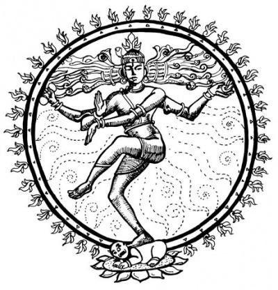 Народный рисунок Индии
