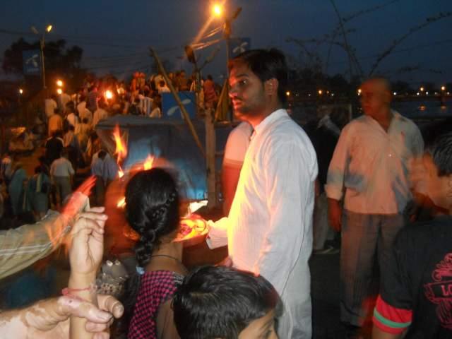 Вечернее арати в Харидваре