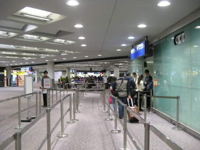 Вход в Гонконг