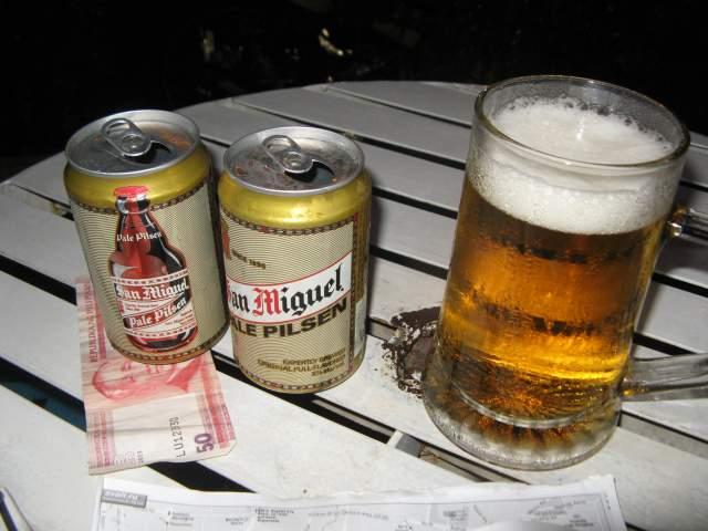 Филиппинское пиво. Терпимо))) А так Сан-Мигель и на юге Европы известно, в Испании уж точно