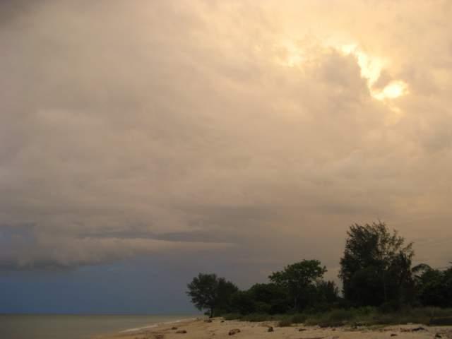 Закат возле Бунги