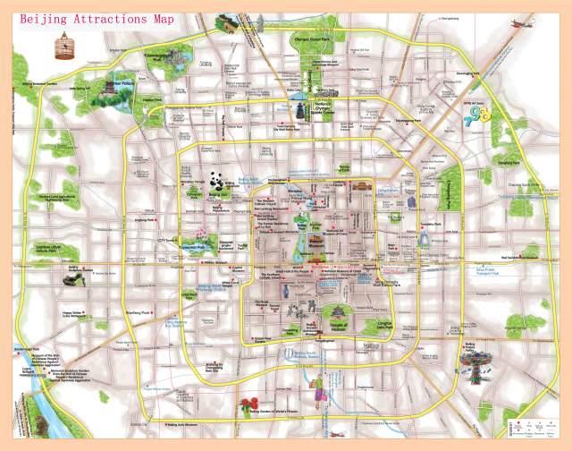 Карта Пекина №1