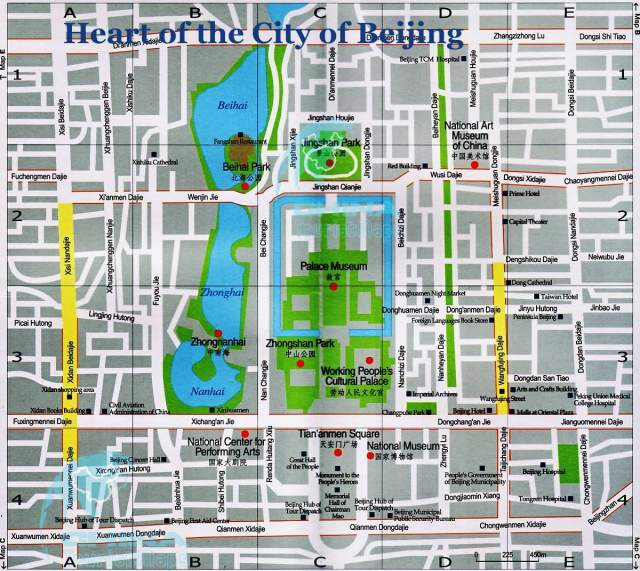 Карта Пекина №3