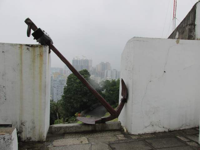 Вид на Макао из Форта