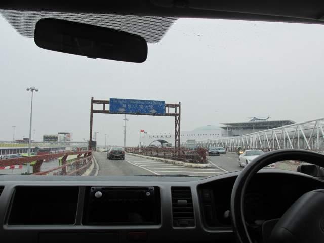 Въезжаем в Порт Макао
