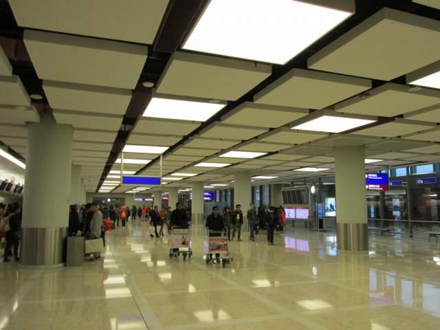 Снова Аэропорт Гонконг