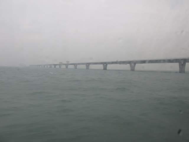 Строящийся мост Макао-Гонконг