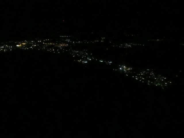 Кота Кинабалу в ночи