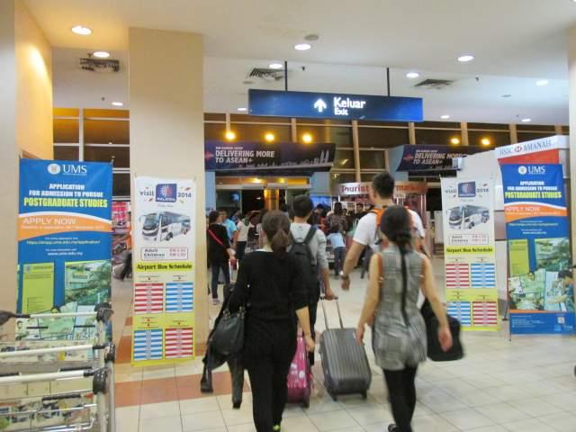 Всего 15 минут - и вот уже Остров Борнео встречает за дверьми Аэропорта!