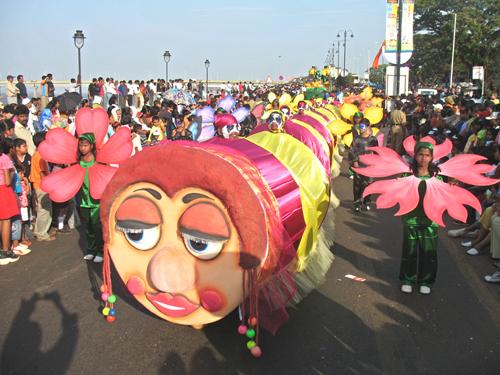 Карнавал в Гоа, Панаджи