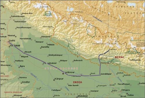 Дели-Горакпур-Непал