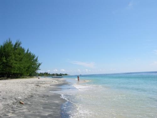 Пляж на Травангане