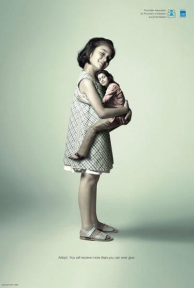 Реклама IAPA: большие дети и маленькие взрослые