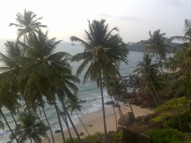 Пляж, рядом с фортом Кабо де Рама, Южный Гоа