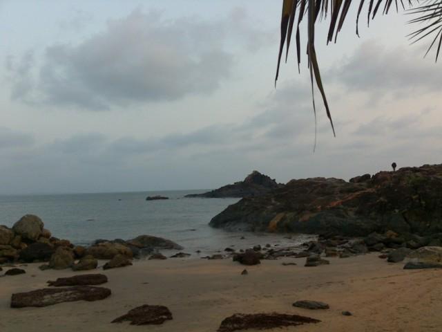 Пляж ОМ, Карнатака