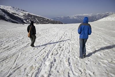 там был путь лыжницы