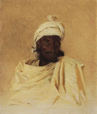Бхил (бхилы - одно из горных племен Декана), 1874