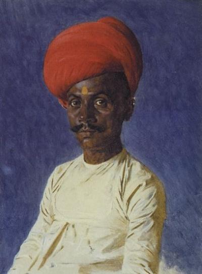 Бания (торговец). Бомбей. 1874-1876