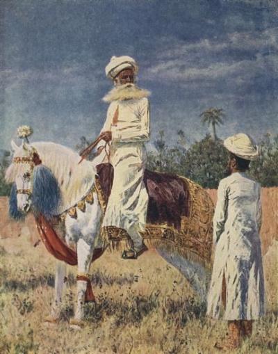 Всадник в Джайпуре. 1874-1876