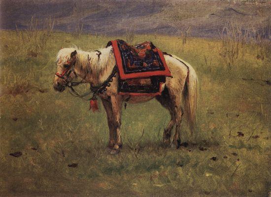 Гималайский пони. 1874-1876