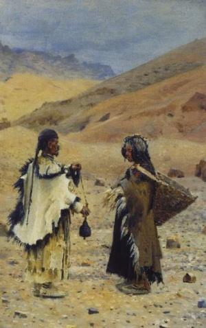 Жители Западного Тибета. 1874-1876