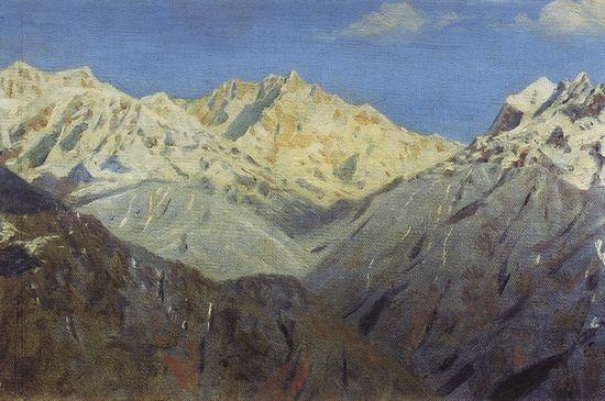 Главная вершина. 1875