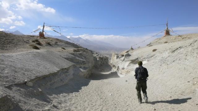 последний перевал перед Ло-Мантангом