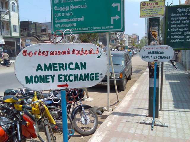 American money only