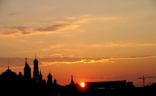 Ещё один рассвет по-московски