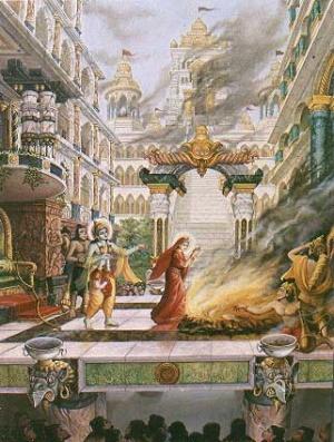 Вриндаван: Картины на тему индийской мифологии