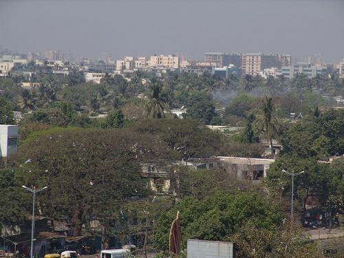 Real Mumbai с крышки отеля Orchid