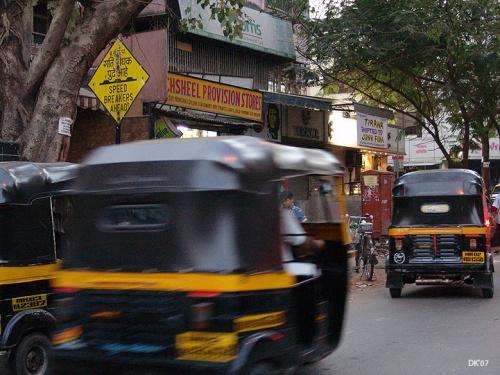 Улицы Мумбаи.Еллоу сабмеринз.