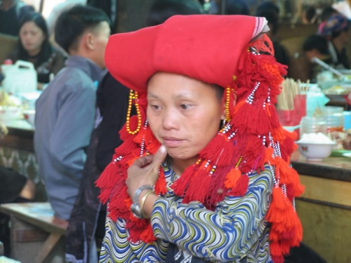женщина племени красных Дзао. Сапа