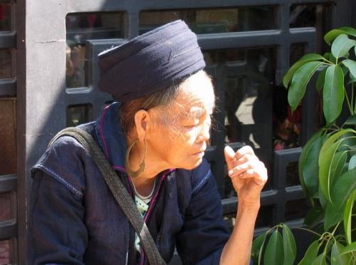 женщина племени Черные Хмонги