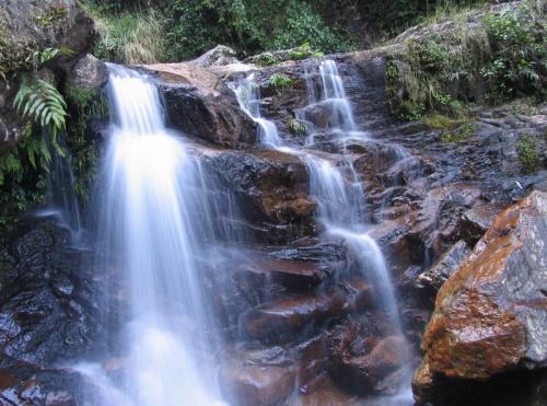Кусочек водопада, очень большого, в смысле длинного :)