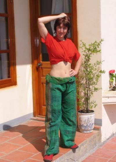 """Поддержали местного производителя.  Это конечно не  """"крассные пролетарские штаны"""" от КомЭска, но тоже хороши :)"""
