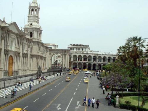 Plaza de Armas: вид из ресторанчика