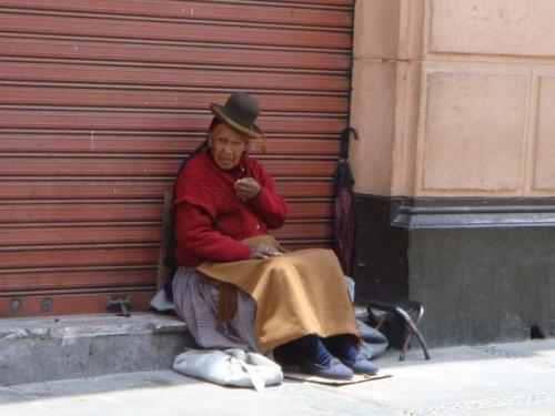 перуанская нищенка